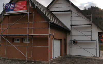 Crépissage de maison & peinture